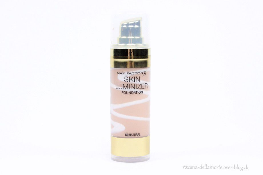 Max Factor: Skin Luminizer Foundation #50 || Testbericht