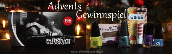 Advents-Gewinnspiel: Passionate Shadows Box &amp&#x3B; Mini-Kosmetikpaket