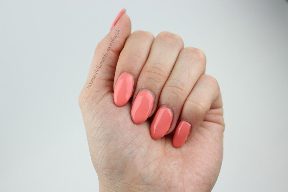 essence: the gel nail polish 24 indian summer || #longlastinglove im Test