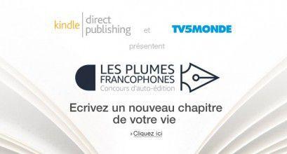 Amazon et TV5MONDE lancent le concours « Les Plumes Francophones »