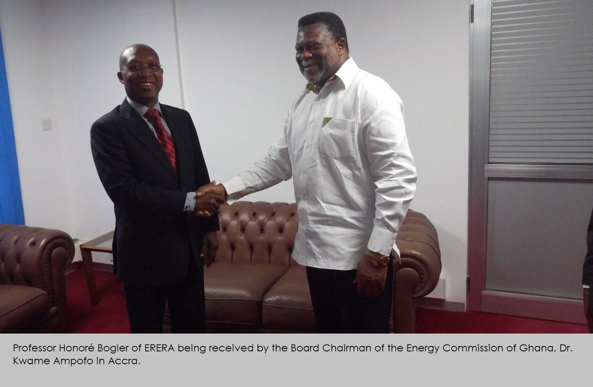 ERERA's Chairman Visits Energy Commission of Ghana