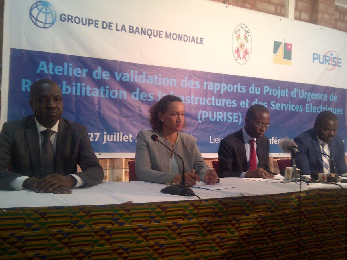 #Banque Mondiale#PURISE#Togo