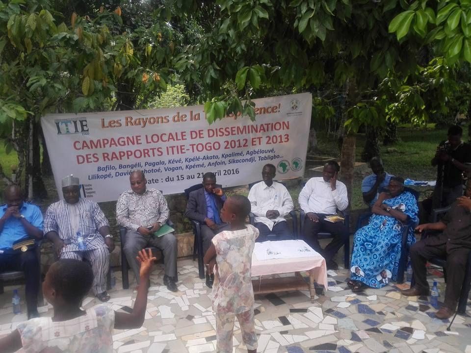 Sensibilisation et formation des parties prenantes sur la norme ITIE 2016 au Togo