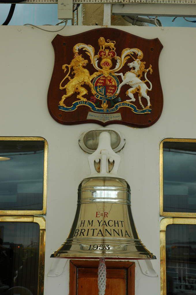 """Le """"Britania"""", yacht royal."""