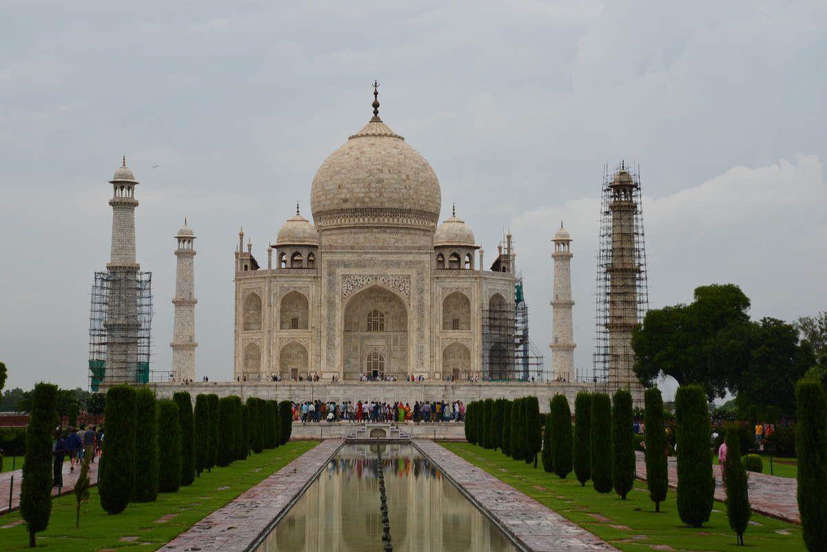 Fort rouge- Taj Mahal - visiteuses