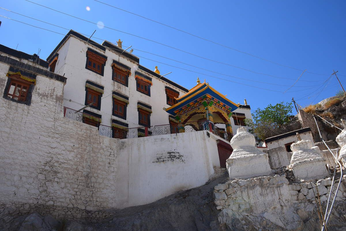 Palais de Stok - Monastère de Spituk- Notre guide : KASHIF