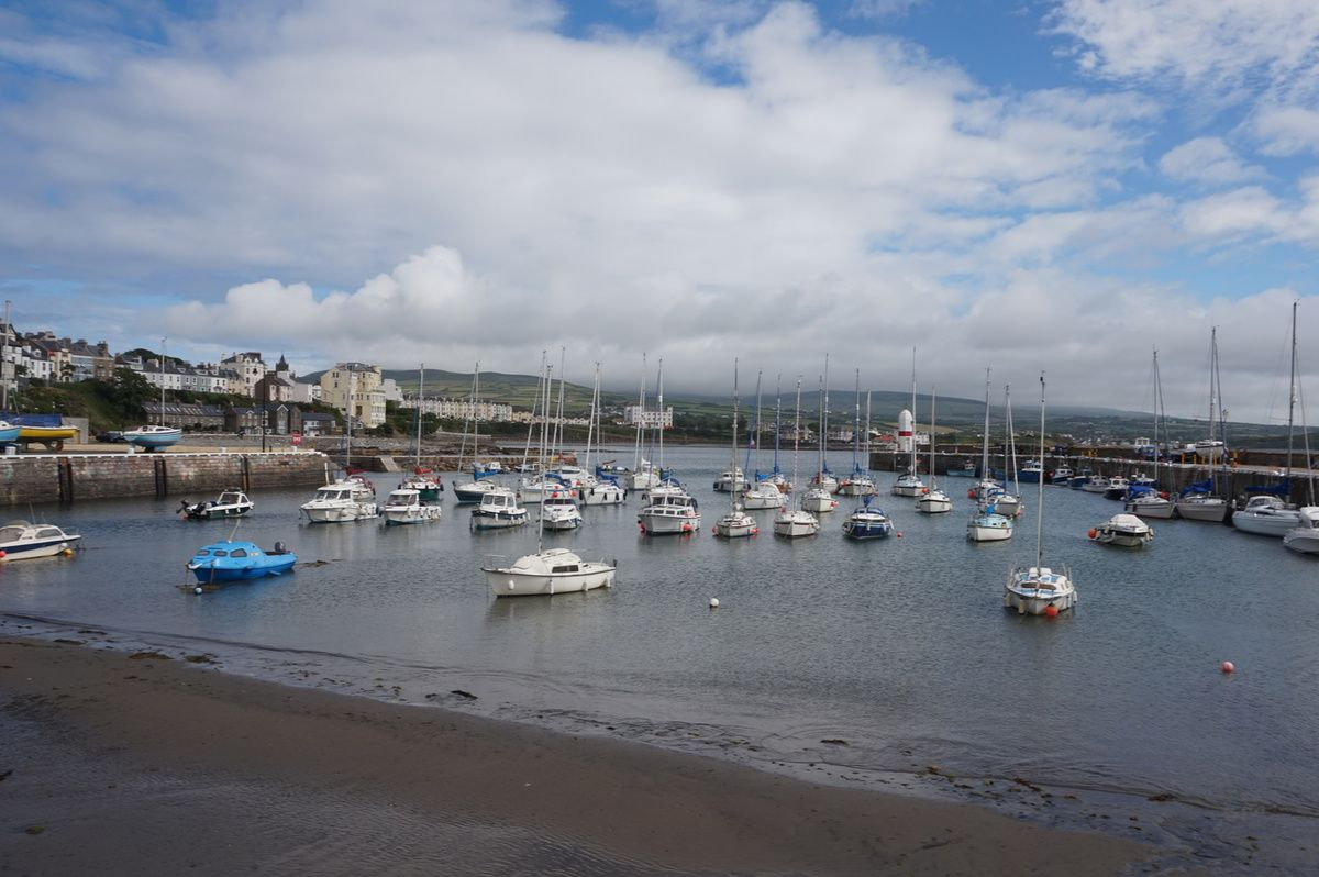 san Mary's port , south of isle of Man