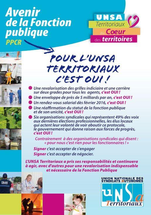 Parcours Professionnels Carrière et Rémunération : la CGT, FO et Solidaires ont fait preuve d'irresponsabilité !
