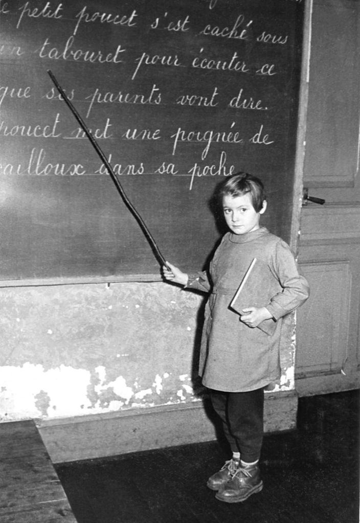 Aline à Monbéliard en 1953