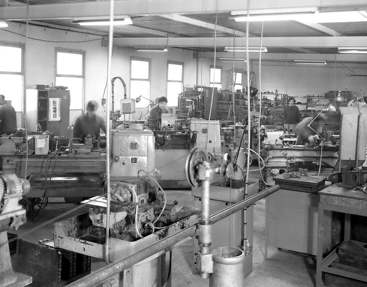 Les PME Nivernaises, début des années 70