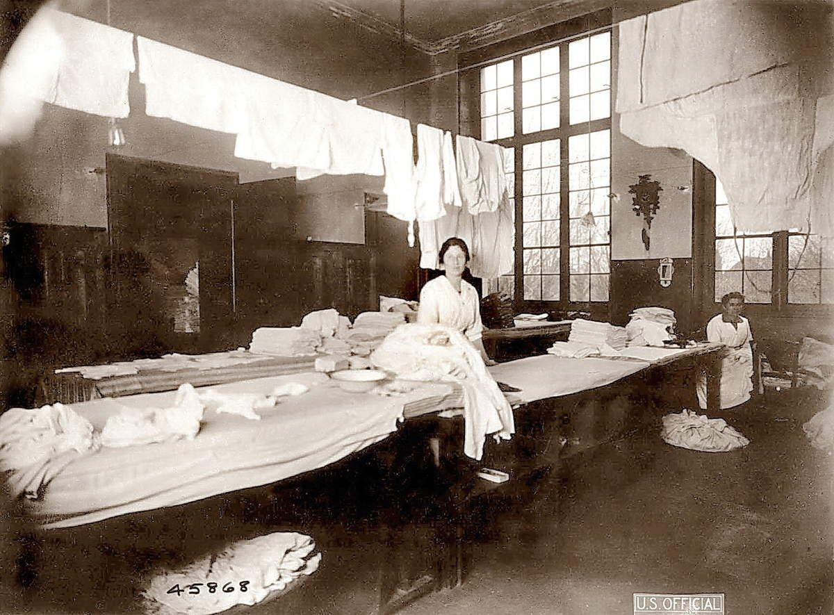 Laundry, Camp Hospital 28, Nevers