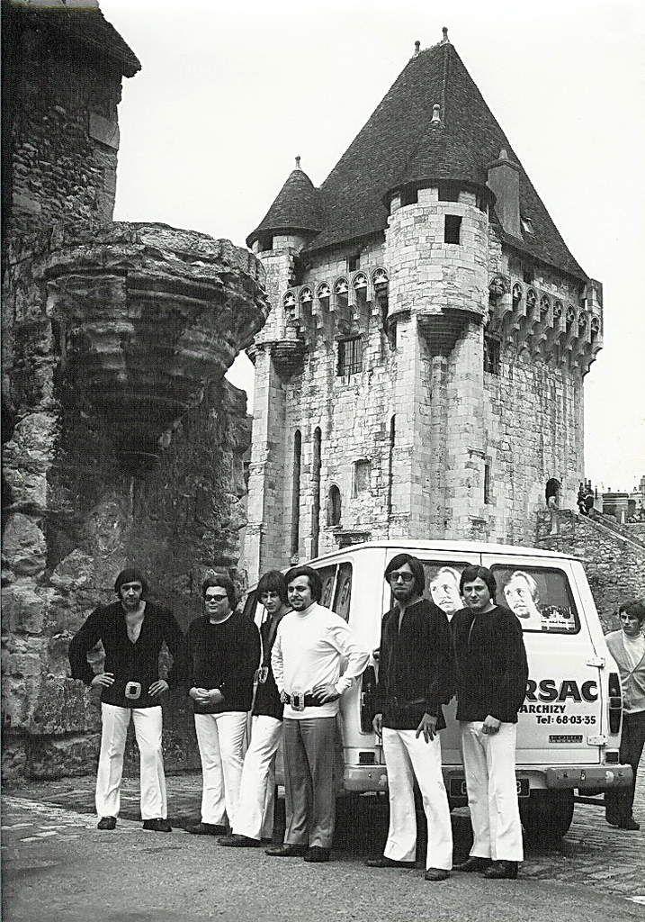 L'orchestre de Michel Marsac au complet en 1970