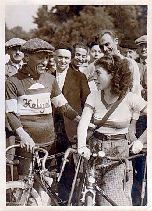 Edmond Williams dans la Nièvre en 1933 - Un spécialiste du demi-fond