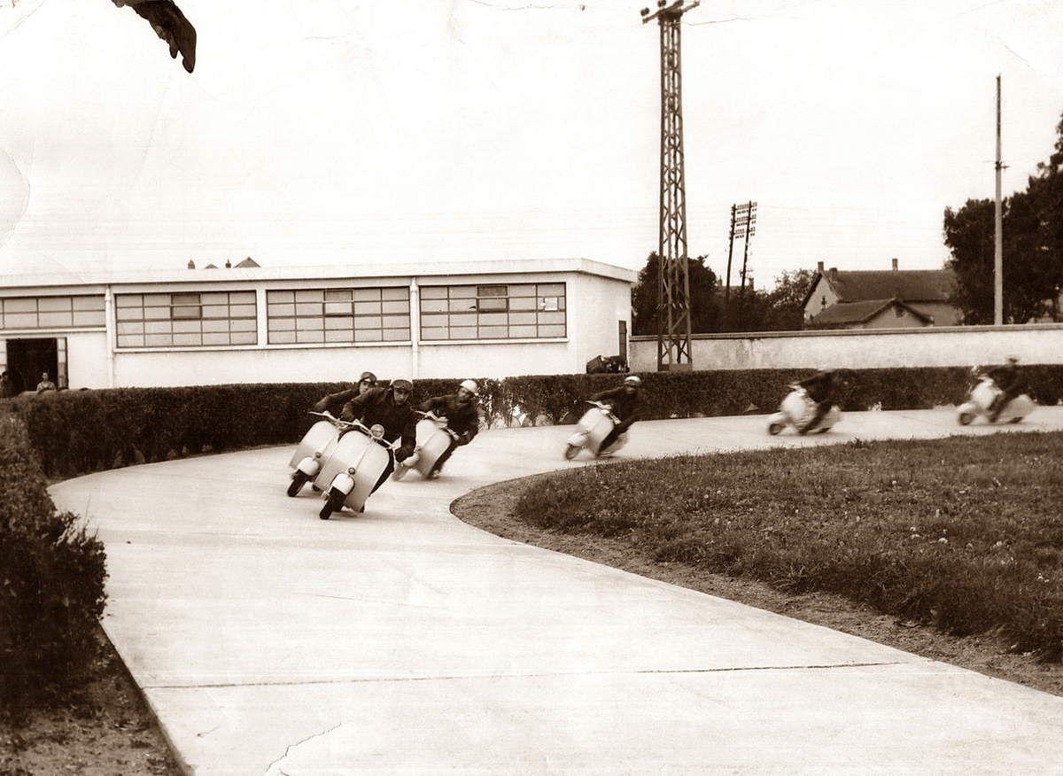ACMA - La piste des essais à Fourchambault