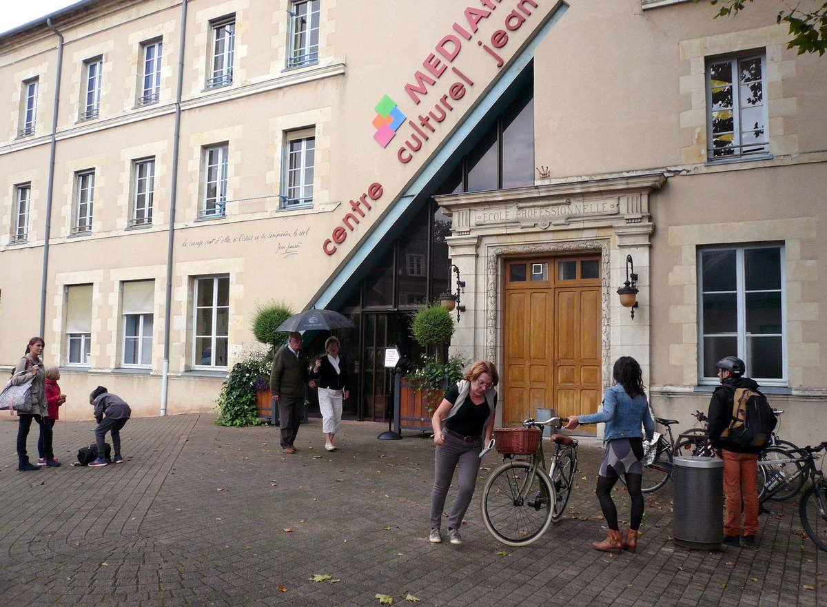 Nevers, la Médiathèque