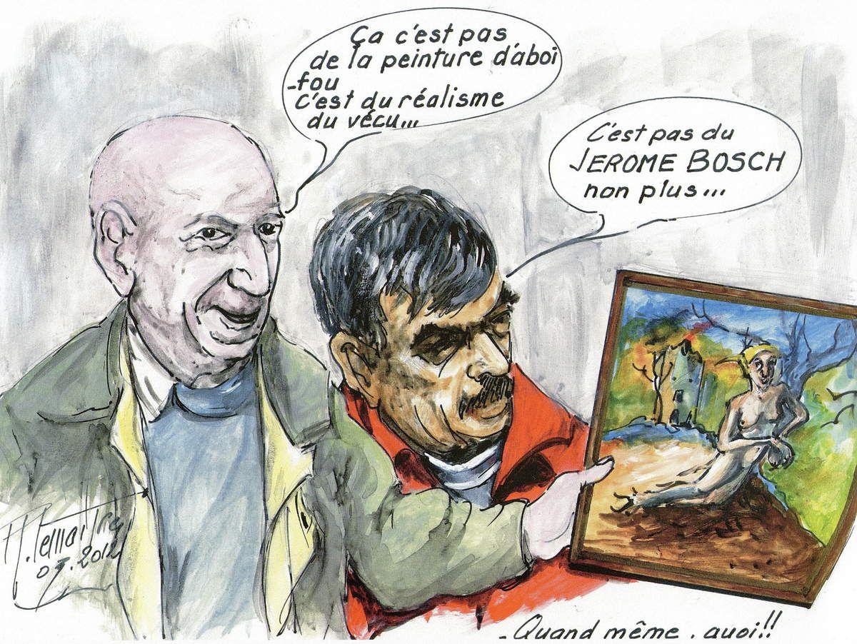 Les caricatures de Richard Lemaitre