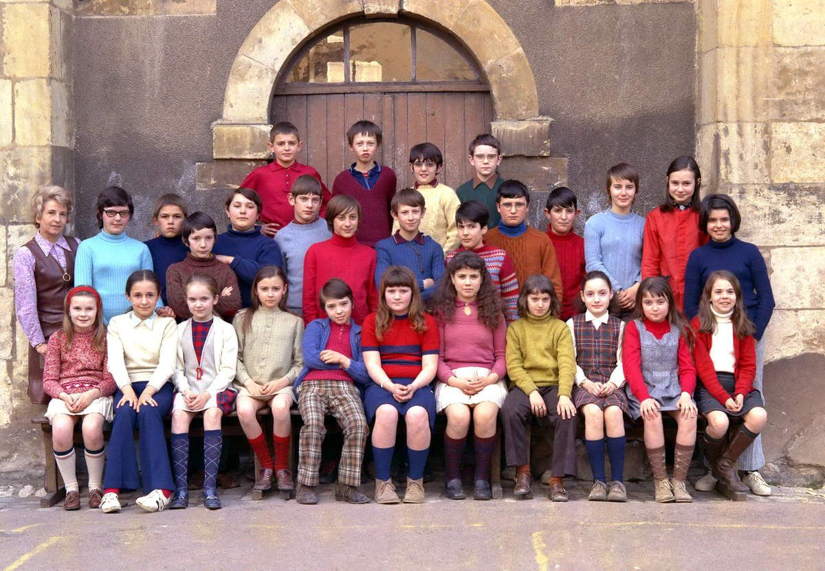 Ecole primaire de La Manutention à Nevers - 1971