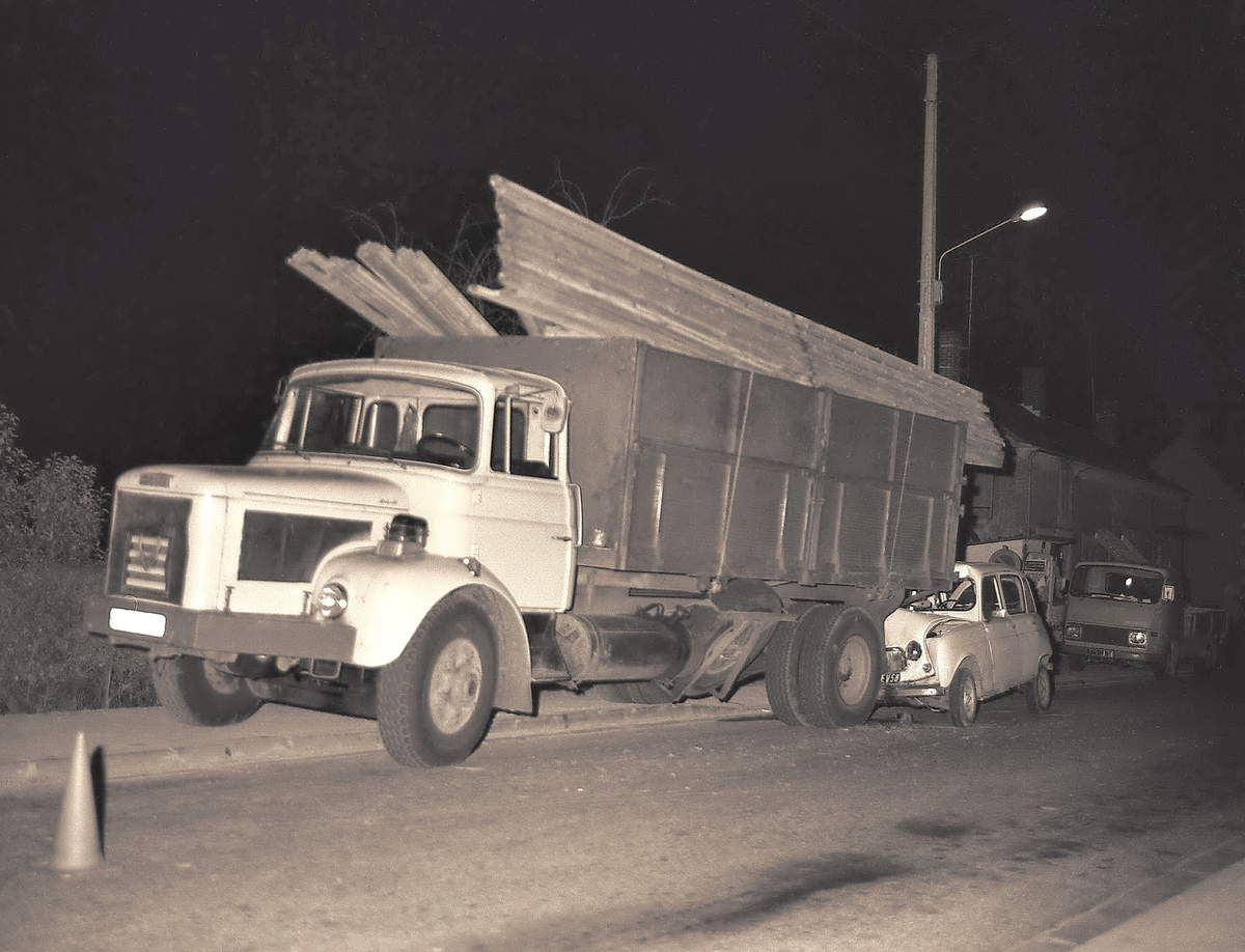 Accident à Garchizy le 18 novembre 1975
