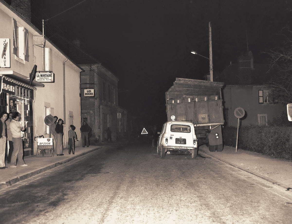 Accident à Garchizy le 18 novembre 1975