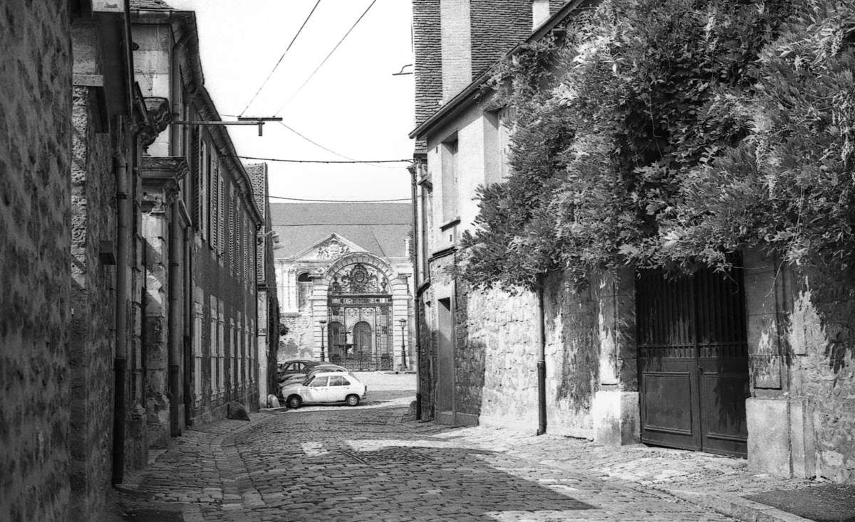 Nevers, circuit touristique des années 70