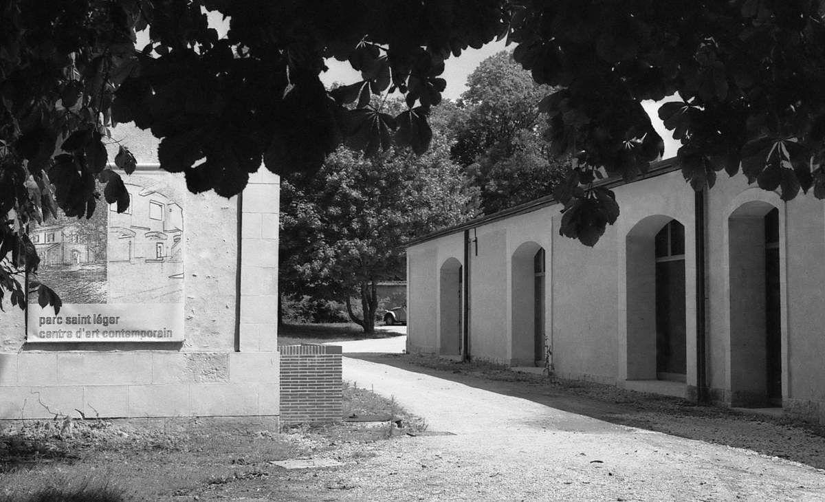 Septembre 1995, Marc Vérat au Centre d'art contemporain de Pougues-les-Eaux
