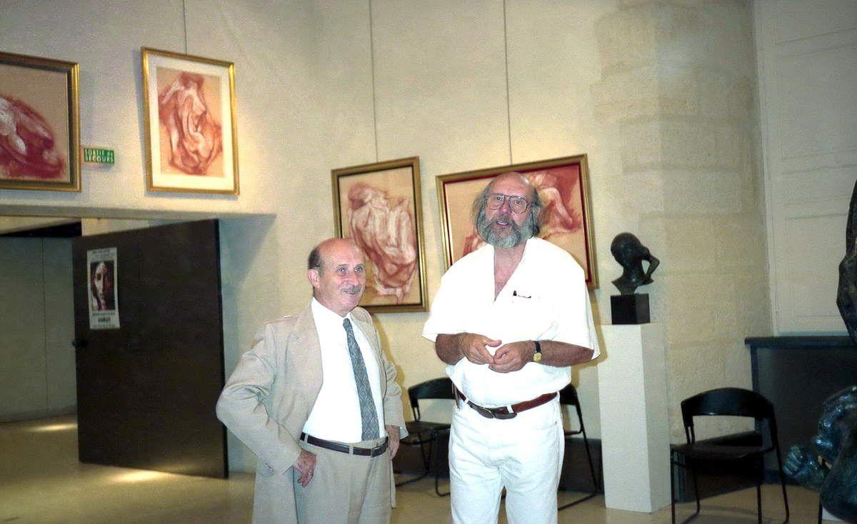 L'avocat Michel Thuriot, Président du Groupe, et Pierre Bellon