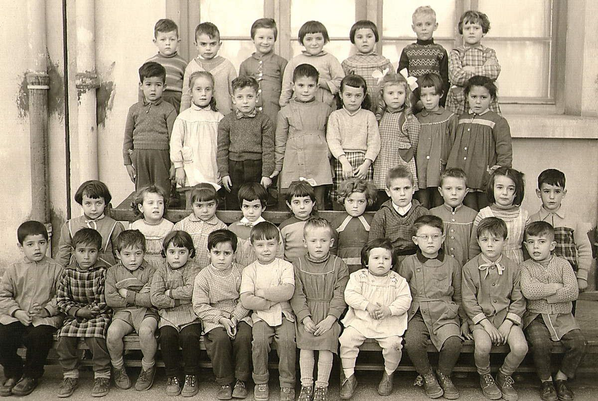 1957, Ecole Saint-Hubert à Oran