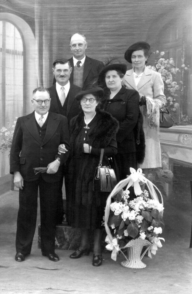 En 1951, mariage de Robert et Nicole