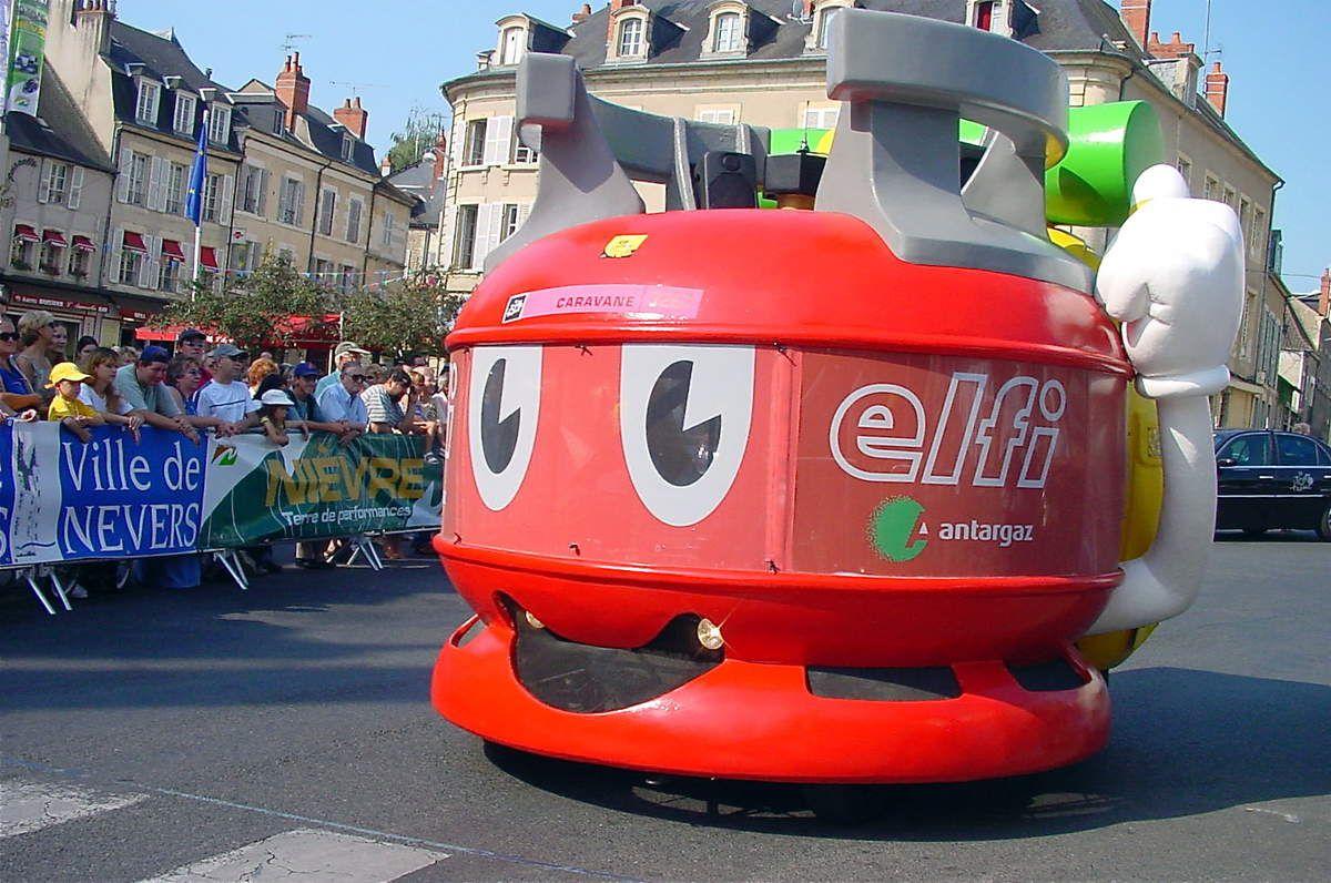 Etape du Tour de France le 11 juillet 2003