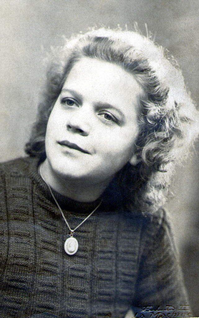 Sa fille Jeannine Golob, née le 16 Août 1930 à La Machine, et mère de Michèle Outy-Vérat