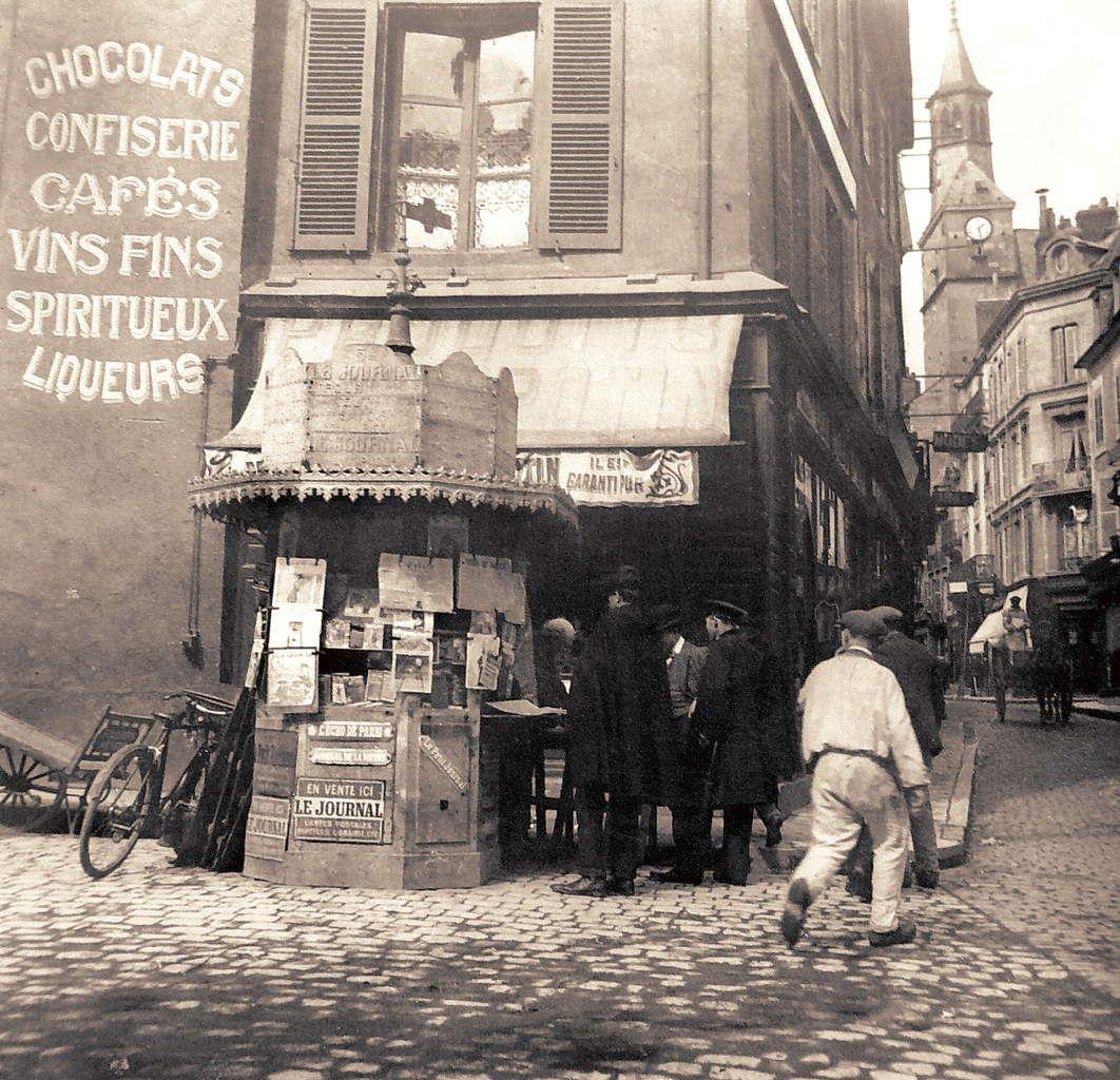 Le Kiosque Laudet proche de la rue du Commerce