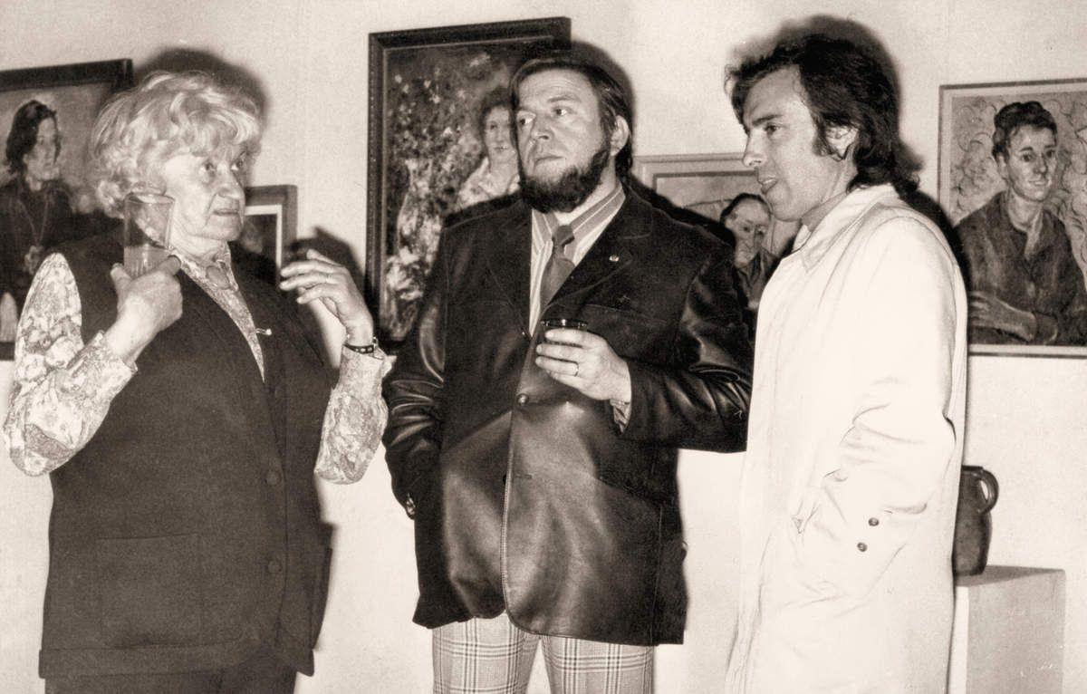 Olga Olby, Bernard Follis et Antoine Panéda