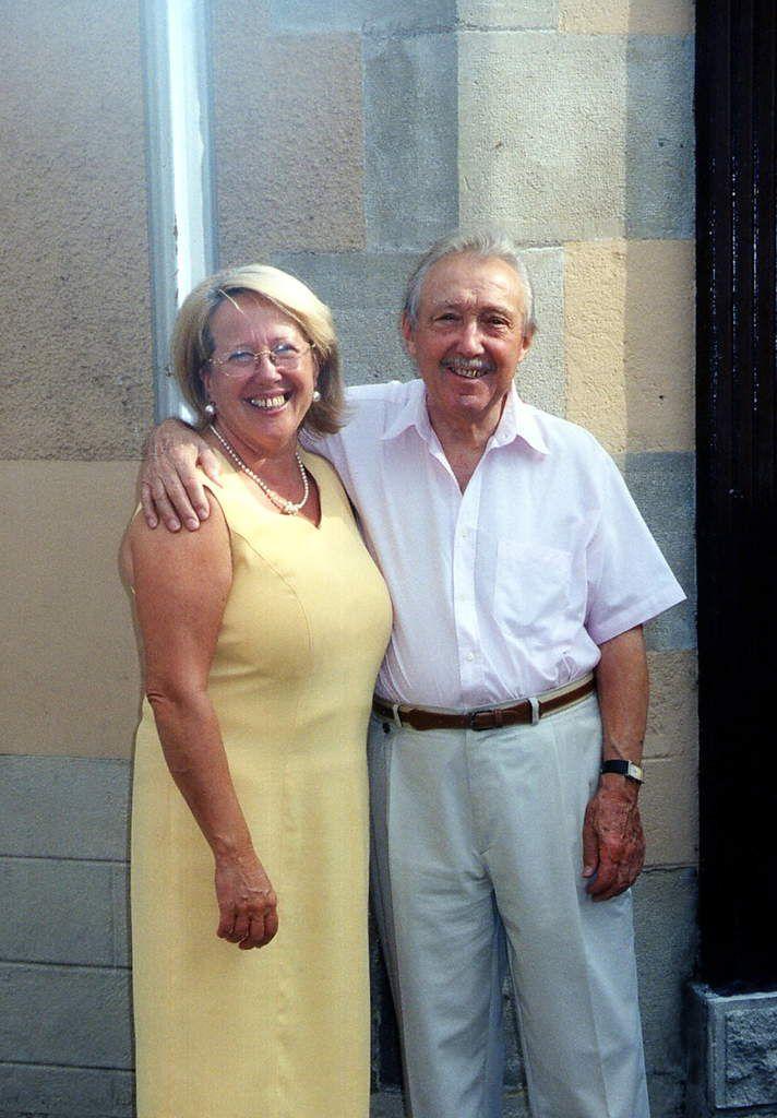 Jacqueline Richard et Maurice Bardin