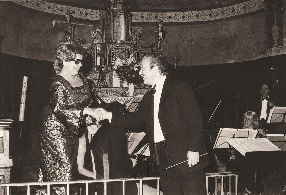 Avec Suzanne Pautrat, mezzo-soprano