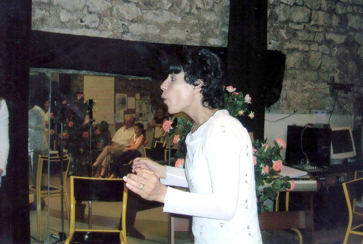 Nadia Rabhi au Pac des Ouches - 2002
