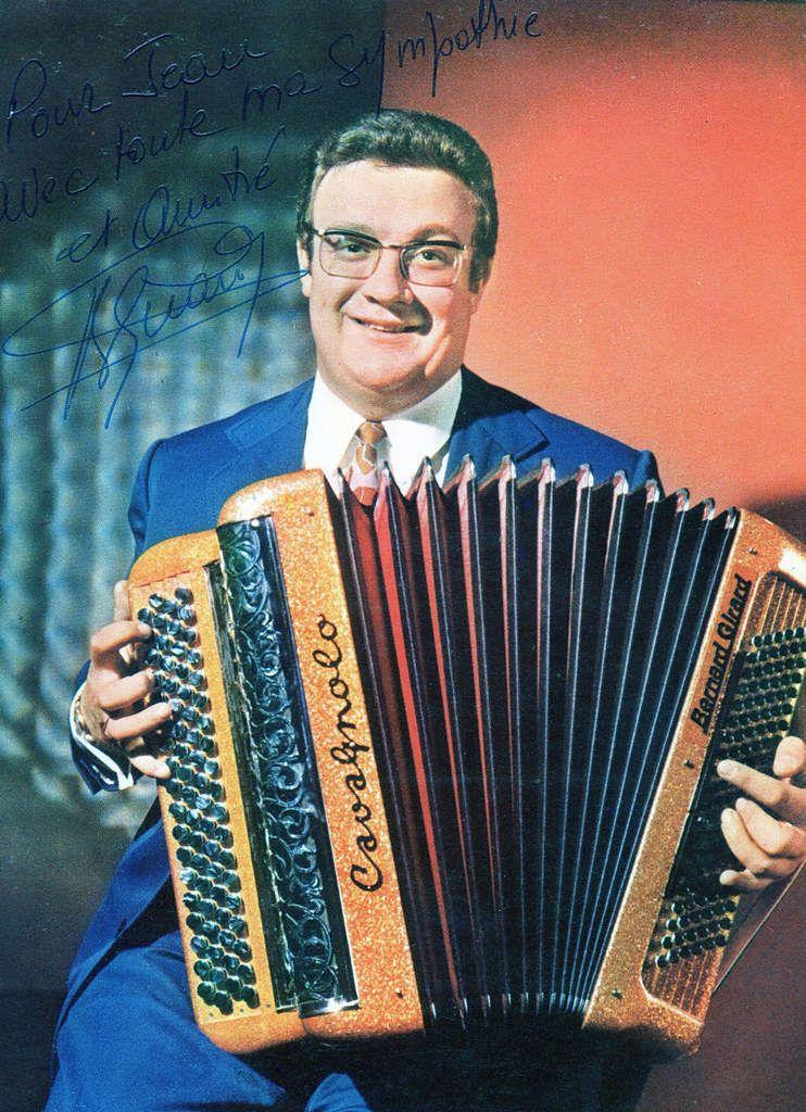 Bernard Girard, vedette de l'accordéon, finaliste des coupes de France UNAF