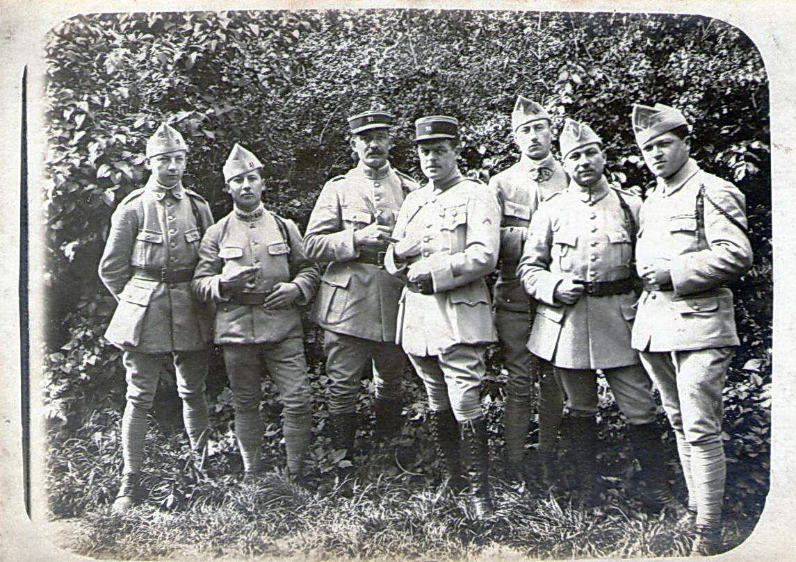 Militaires 1914