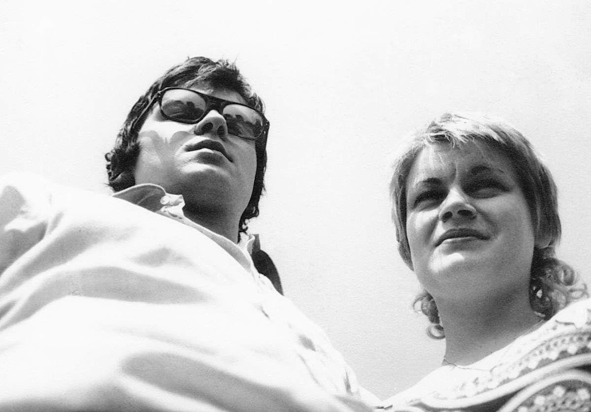 Daniel Thévenot et Marc Vérat à Coulanges en 1970