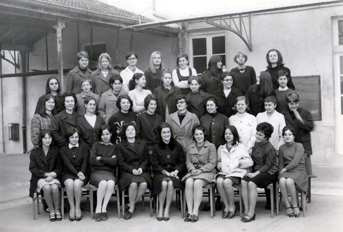 Lycée Feuchères de Jeunes Filles - NÎMES 1965-1969