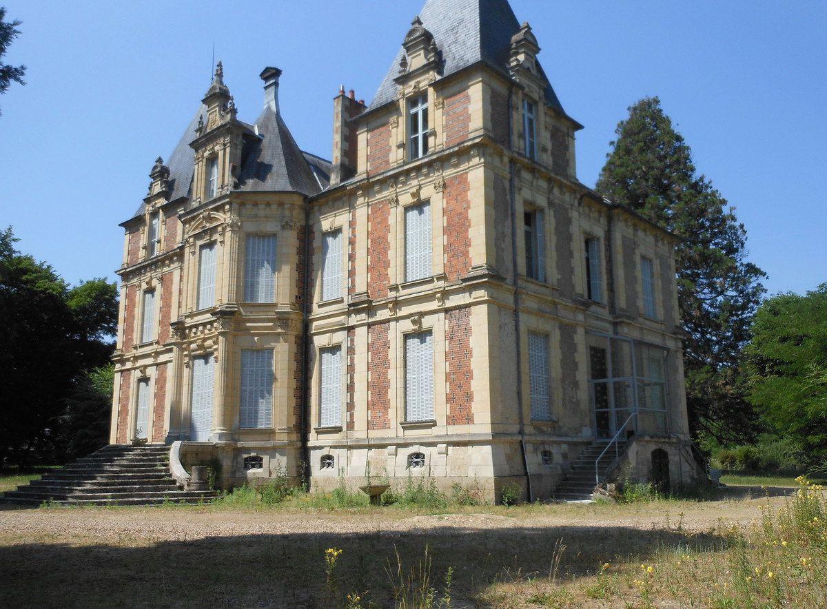 Pougues, château Des Métairies