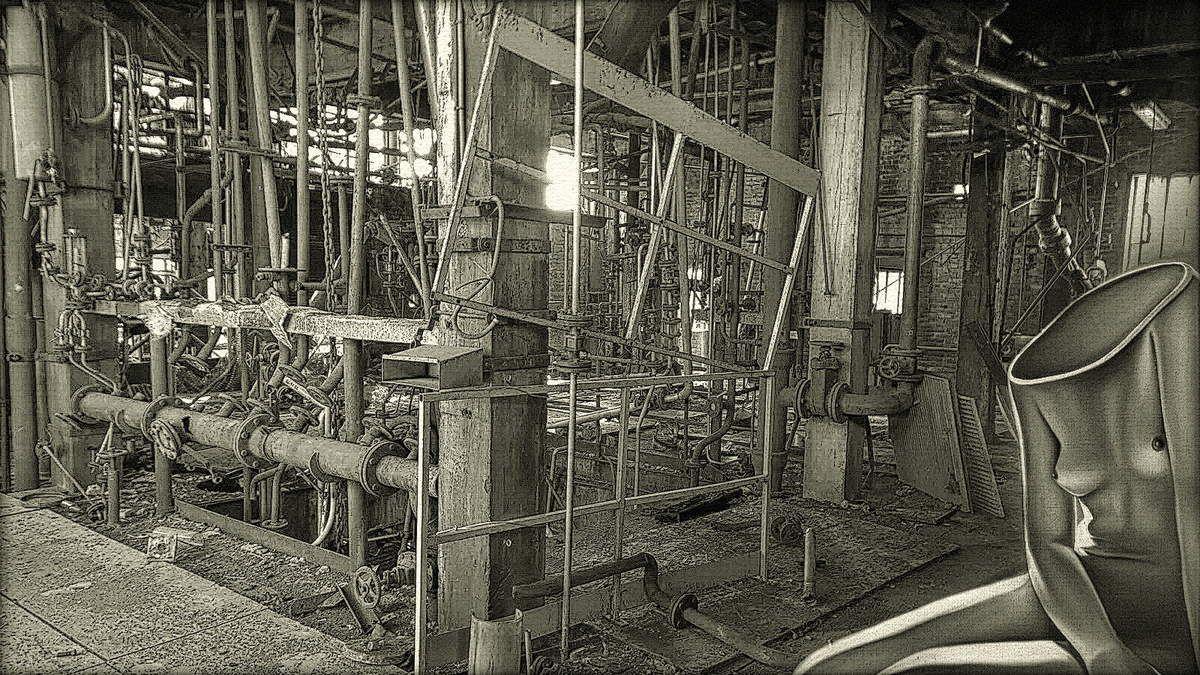 Visite guidée de l'usine Lambiotte avant démolition