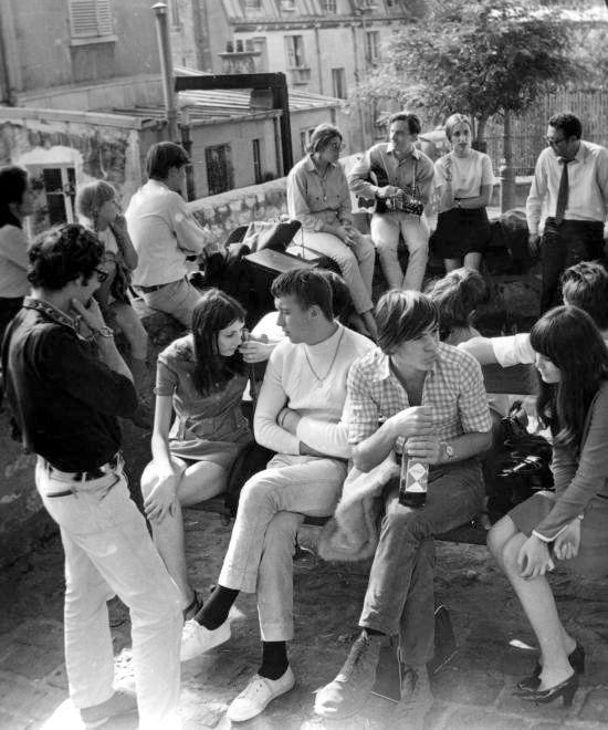 La fin des années soixante