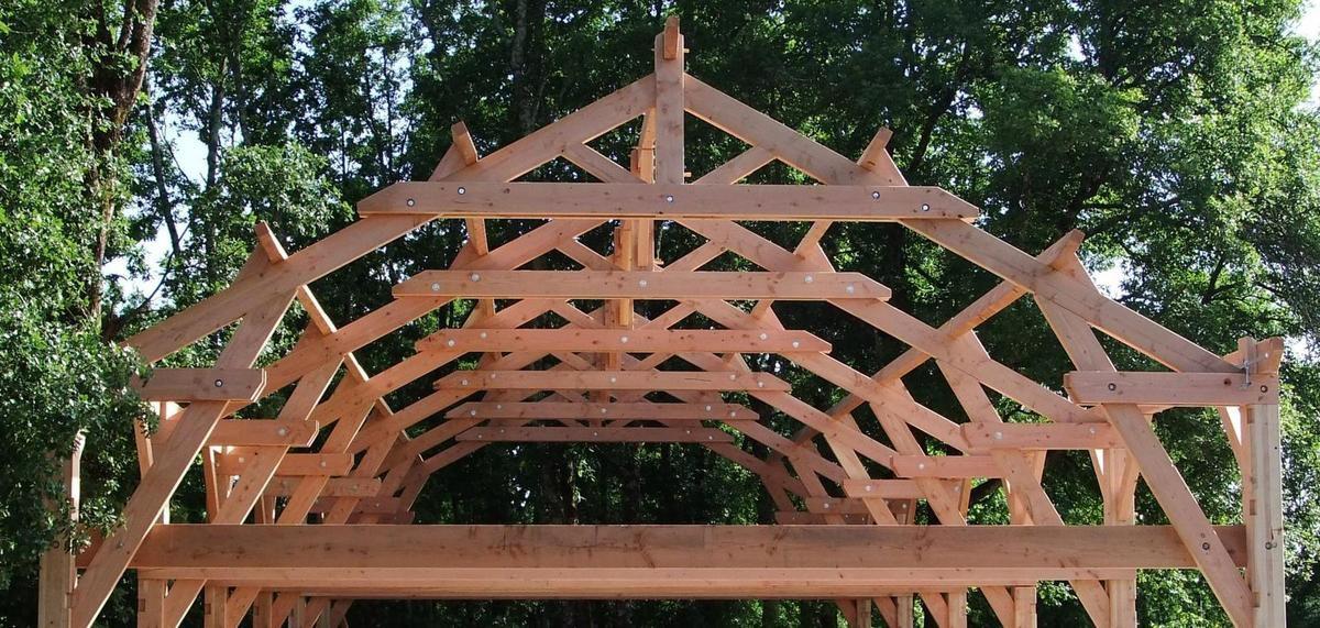 charpente traditionnelle blochet