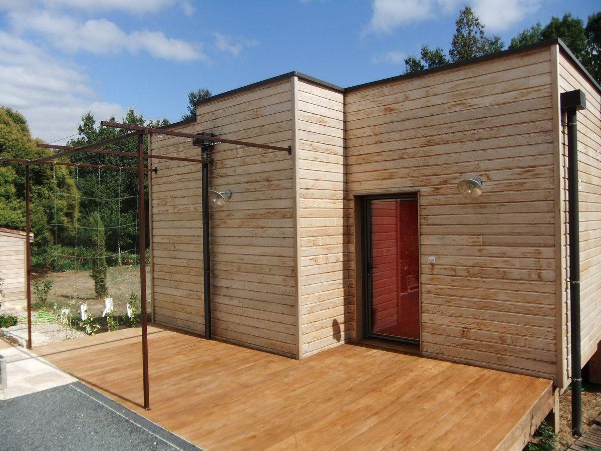 maison d habitation sur pilotis elevation bois. Black Bedroom Furniture Sets. Home Design Ideas
