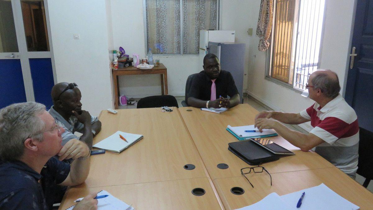 Des échanges fructueux avec M Ba concernant le programme futur de création d'entreprises et de soutien aux jeunes les plus dynamiques.