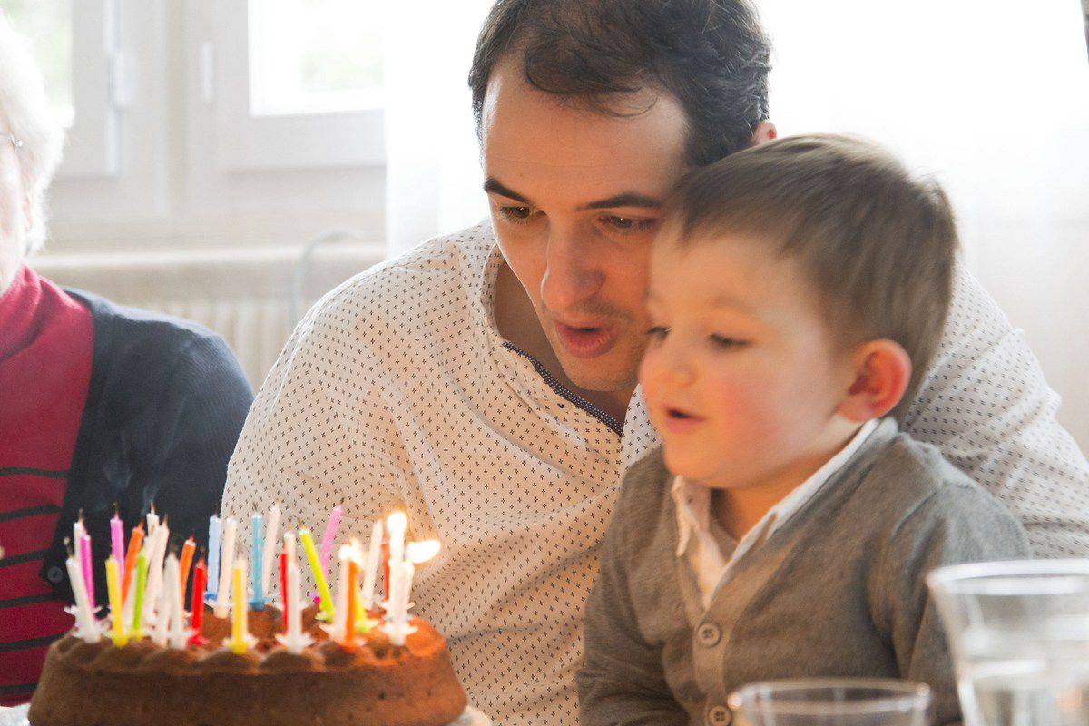 Bon anniversaire Papa