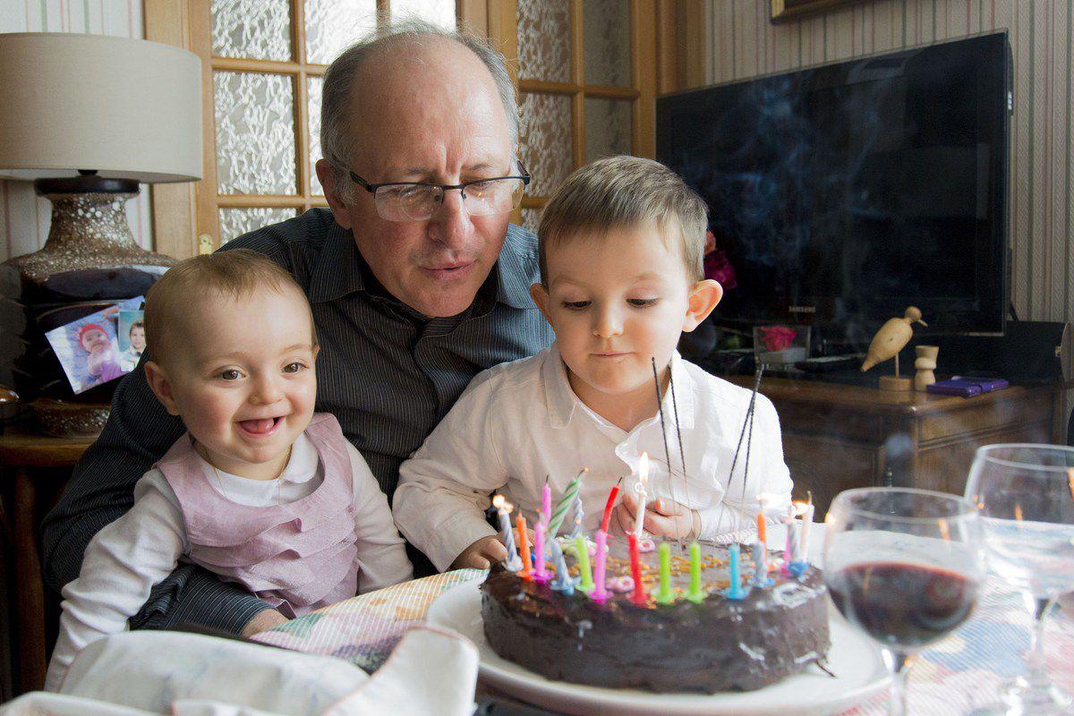Un anniversaire en famille