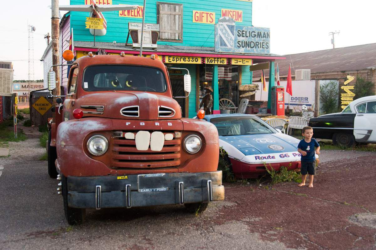 On the Route 66 - Road-Trip 2