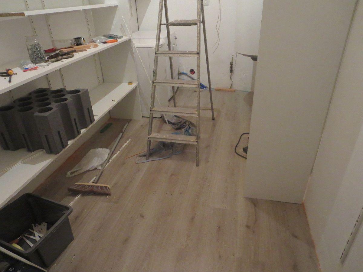 Travaux du cellier passion for Peinture plancher