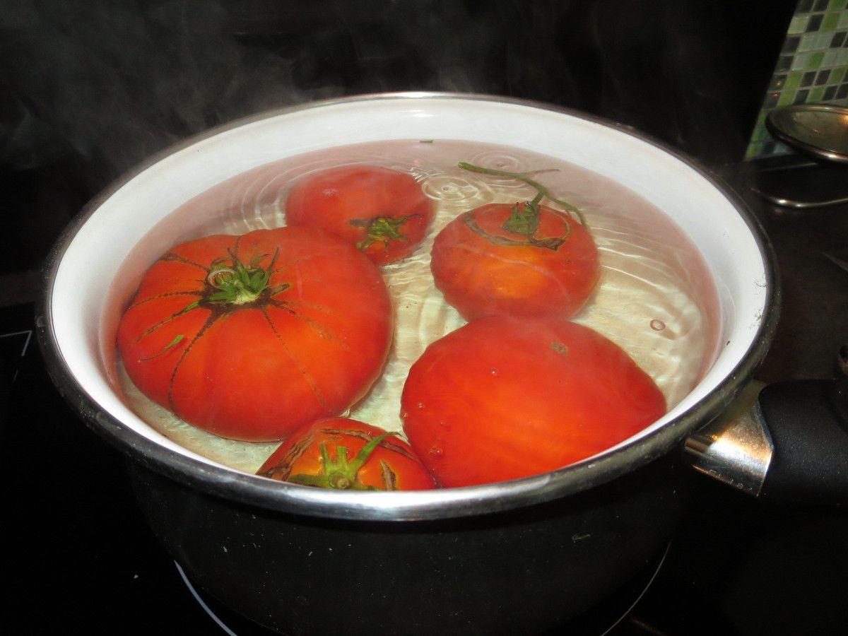 Veau à la tomate